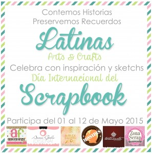 Dia Internacional del Scrapbook LAC 2015
