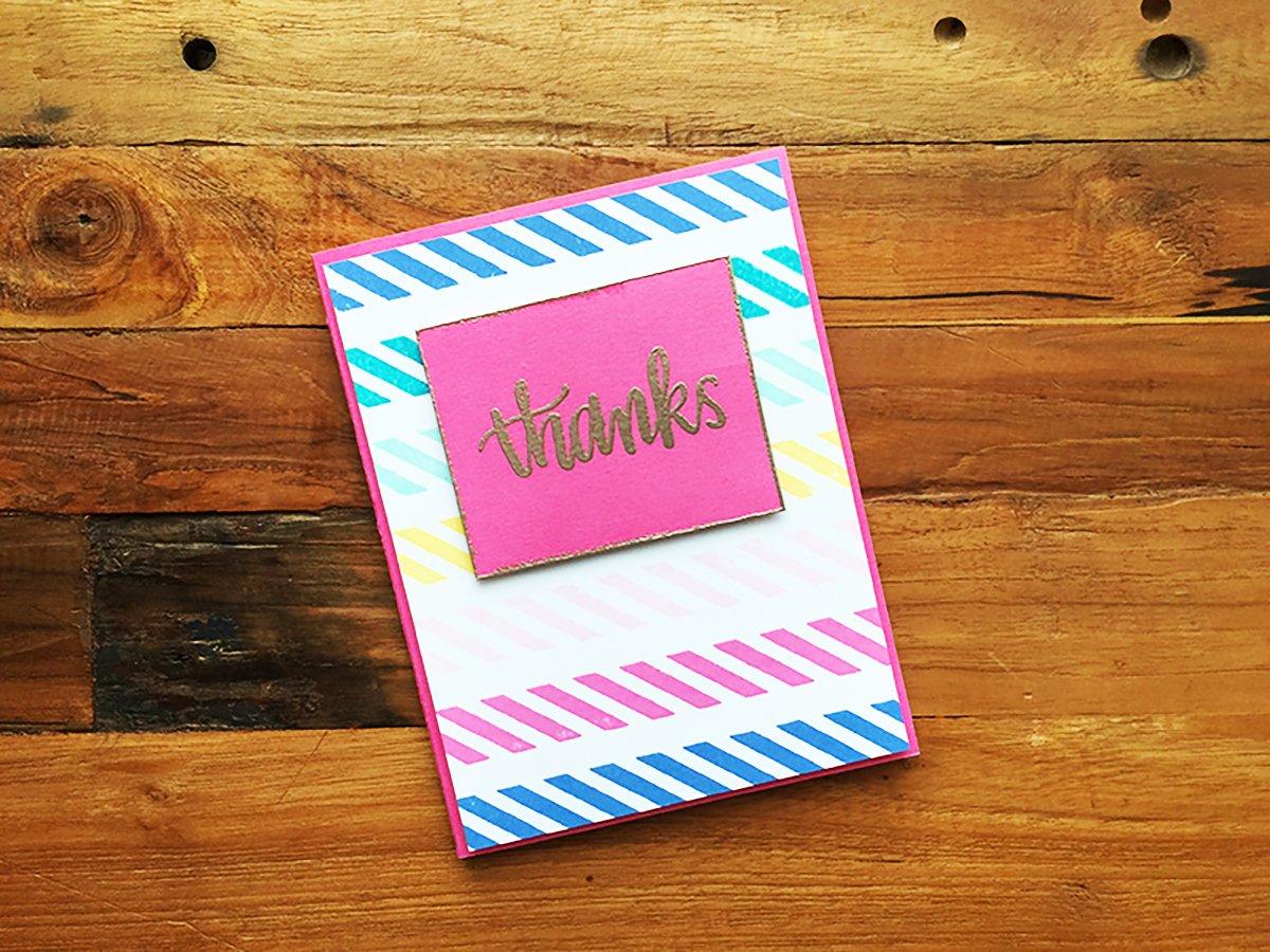 Sacar el máximo provecho de una conferencia y agradecer con una tarjeta.