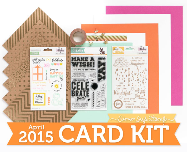 sss april card kit